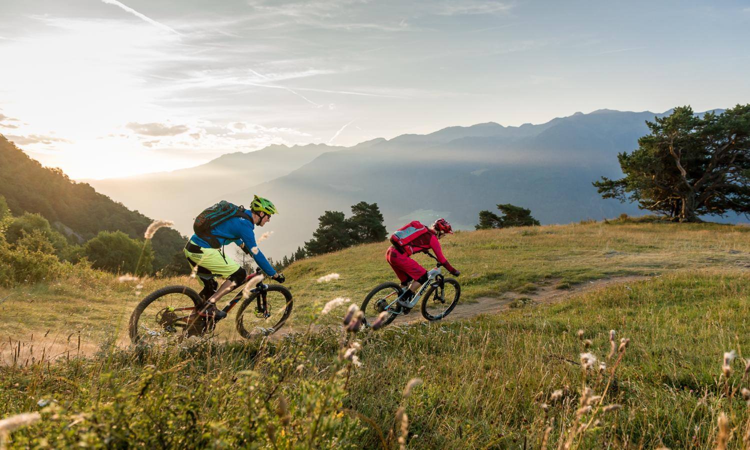 MTB-Trails in Laas-Schlanders, Vinschgau